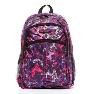 plecak szkolny młodzieżowyw motyle